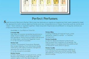 Sarah Horowitz Parfums Advertising Sell Sheet